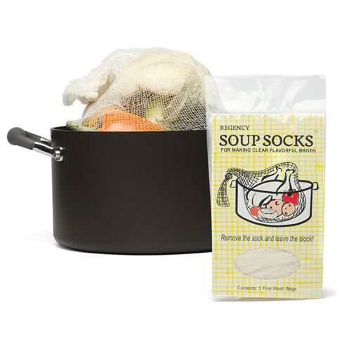 Regency - Soup Sock Set 3pce - ingenious idea for keeping meat, veg and herbs and spices together while making stock $3.50 @ petersofkensington.com.au