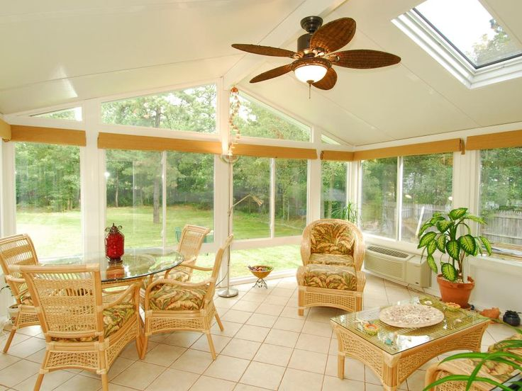 Elegant Modern Sunroom Furniture