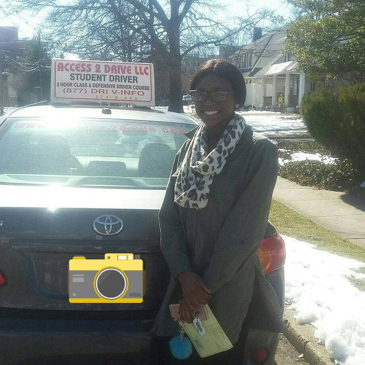 Keyana of #freeport #longisland came to us a new #driver just got her #newyorkstate # permit.  After taking our 16 #lesson package She has her #drivers #license.  #acess2Drive #drivingschool #learntodrive #welovewhatwedo #teamaccess  www.access2drive.com