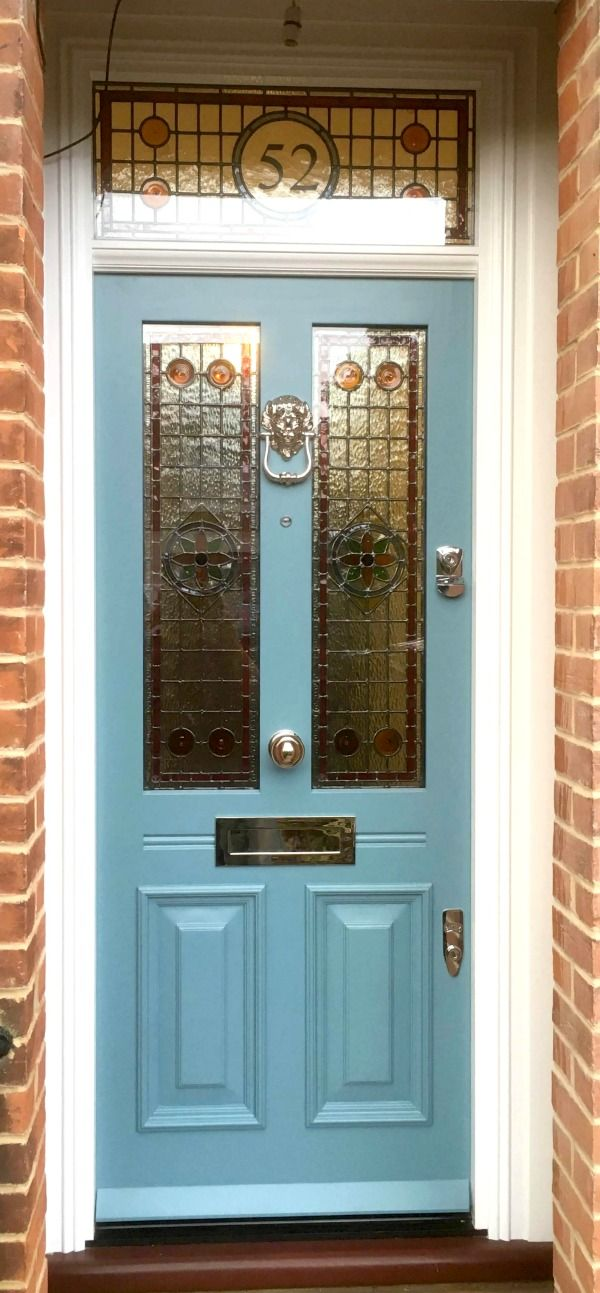 Awesome Victorian Double Entry Doors