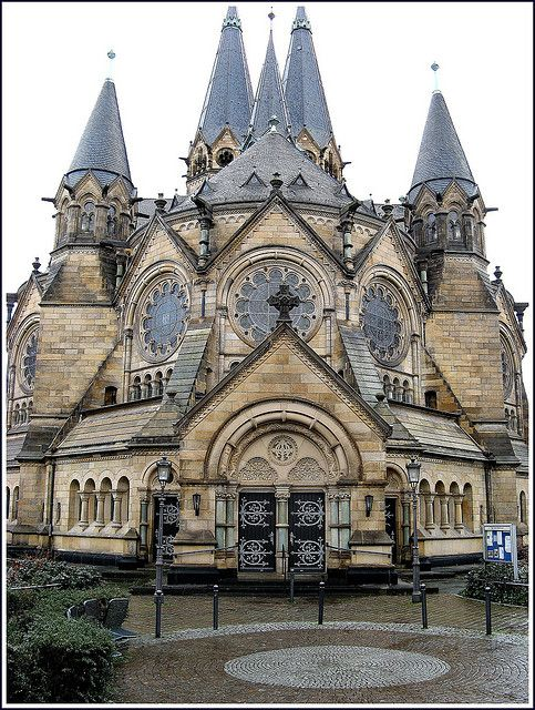 Protestant Church, Wiesbaden, Germany