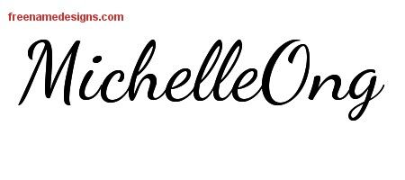 lively script name free tattoo design maker michelle pinterest free tattoo designs and. Black Bedroom Furniture Sets. Home Design Ideas