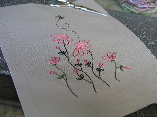 Embroidery   J'ai terminé la broderie vendredi. Je dois main…   Flickr