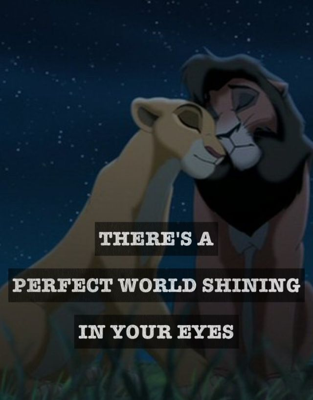 Lion King Love Quotes Mesmerizing 12 Best Lionking Quotes Images On Pinterest  The Lion King Lion