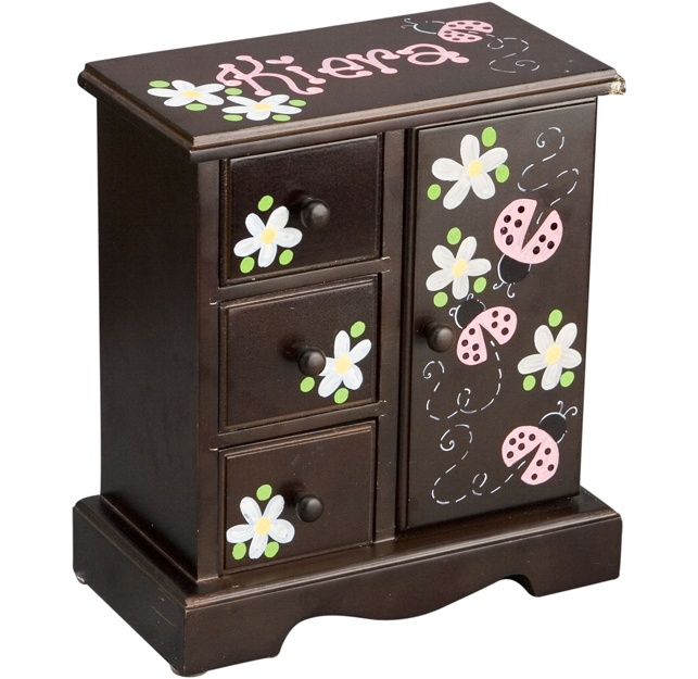 Espresso Kids Jewelry Box Other Colors Avail