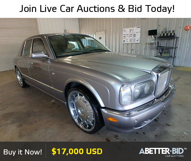 Bentley Used Cars For Sale By Owner: Salvage 2000 BENTLEY ALL MODELS For Sale