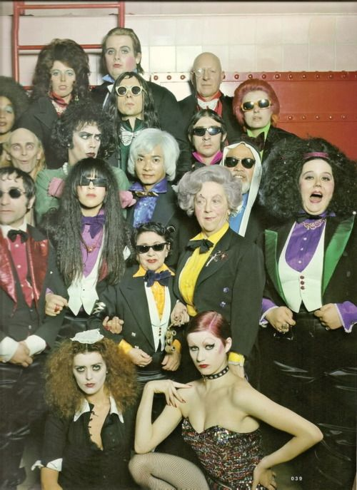 The Rocky Horror cast