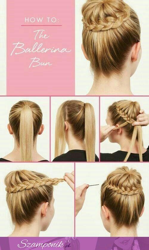 Hair diy how to do the ballerina bun