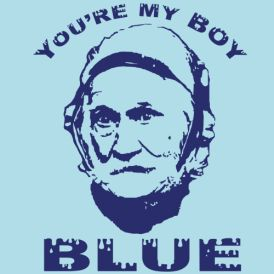 """You're my Boy Blue"" Funny Old School movie T-shirt from DonkeyTees.com Get 15% off by using code: PINNING"""