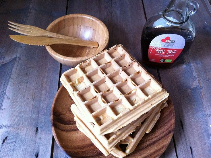 Waffles / Goffres without gluten and dairy