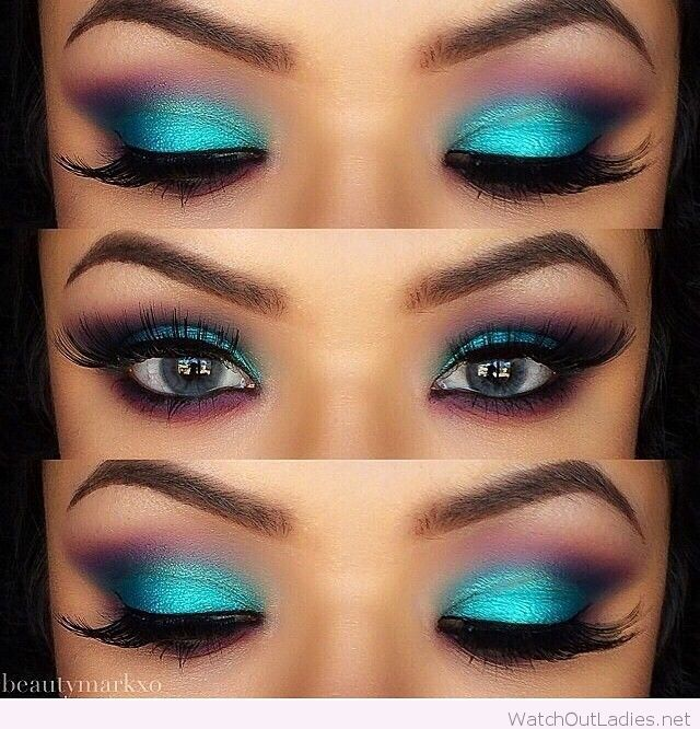 i've always said to never do blue eyeshadow, but this one would work on certain people ( grey eyes, brown eyes )