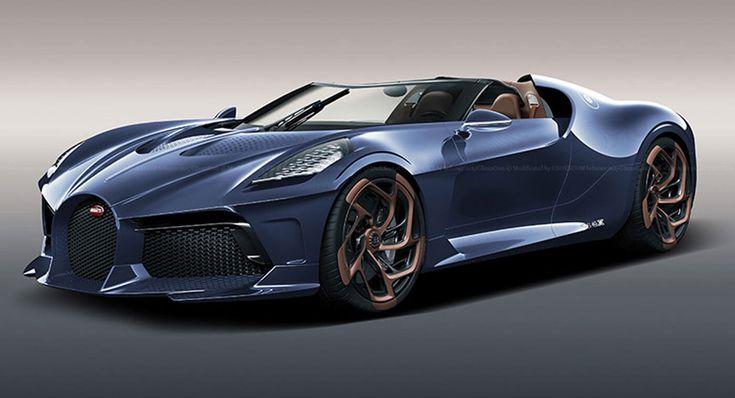 Bugatti La Voiture Noire in gutem Blau