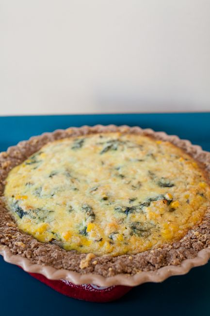 salmon & chard quiche | Fooding - Kale, Chard and All Things Dark and ...