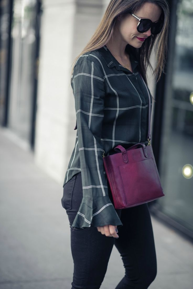 winter plaid, under $100   as seen on The Styled Fox, a Houston Fashion Blog