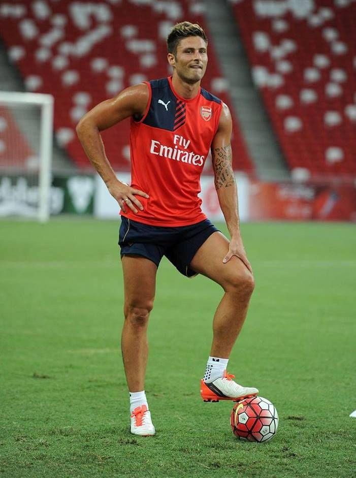 Olivier Giroud #footballislife