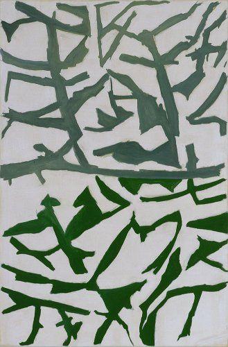 Raoul de Keyser - Retour 2 - 1999 - 167 x 110 cm - oil on canvas