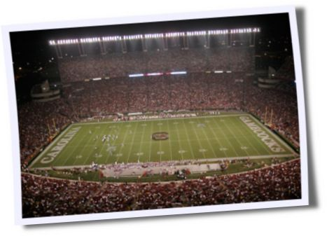 Williams Brice Stadium, Home of South Carolina Football
