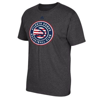 Atlanta Hawks adidas Stars & Stripes T-Shirt - Mens: Atlanta Hawks adidas Stars & Stripes T-Shirt - Mens #nbastore #nbastoreeurope