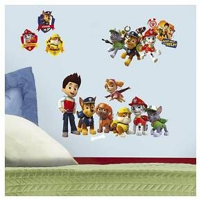 Paw Patrol Giant Wall Decal : Target