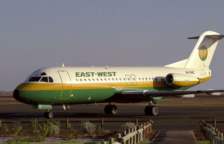 East-West Airlines Fokker F-28-4000 Fellowship VH-EWC