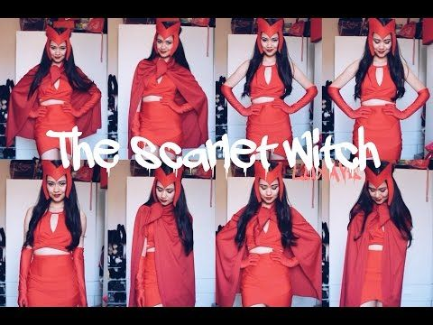 THE SCARLET WITCH COSTUME TUTORIAL - YouTube