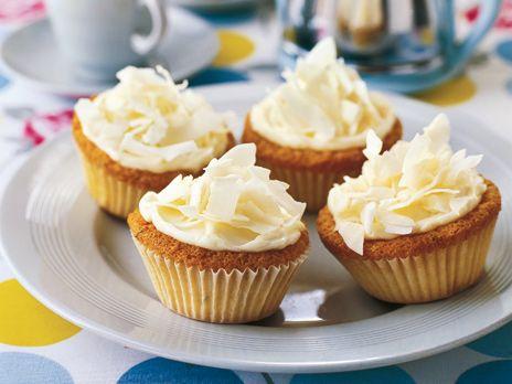 Cupcakes med kokos och lime   Recept från Köket.se
