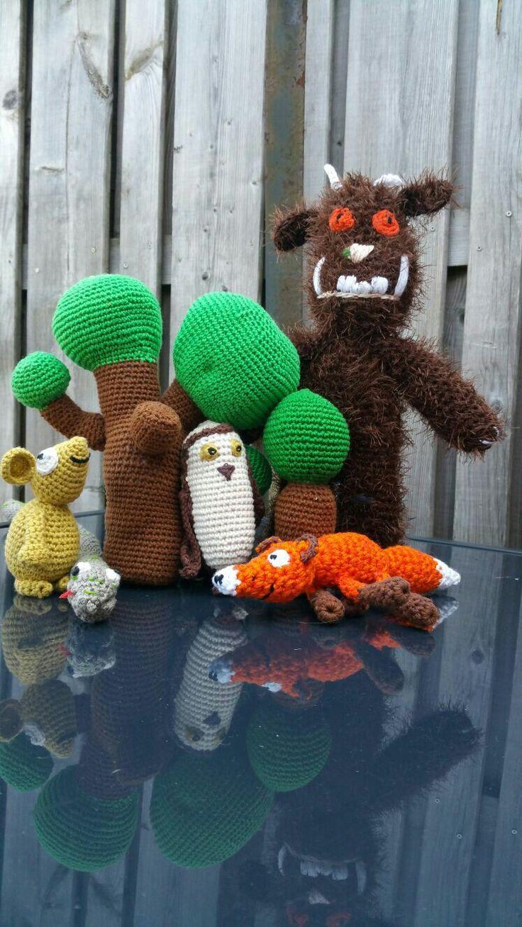 Crochet gruffalo