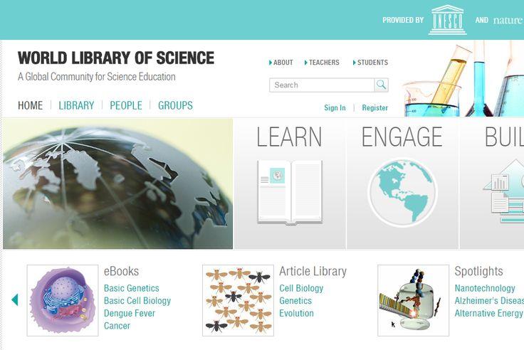 Ingyenes #online tudoményos #könyvtár / #free WORLD LIBRARY OF SCIENCE Forrás/source: nature.com