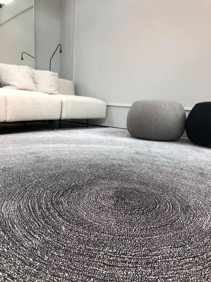 Black White Sauvage Dégradé Design Post Köln Carpetsign Rug Carpet Sign Rugs Pinterest And