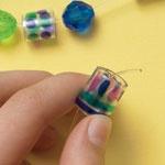 Make Plastic Beads from Water Bottles