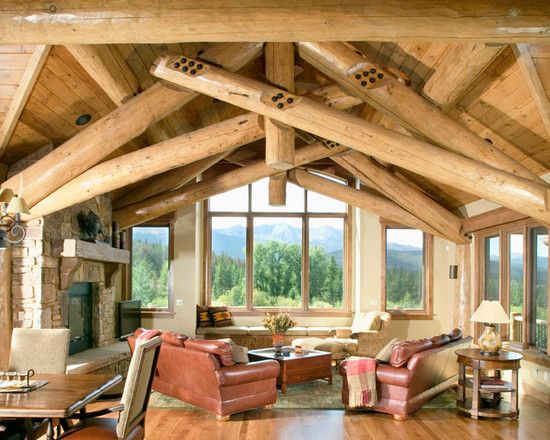 Fabulous Mountain House Design; Living Room Decoration: Cozy Living Rooms For Mountain Homes Classic Design Furniture