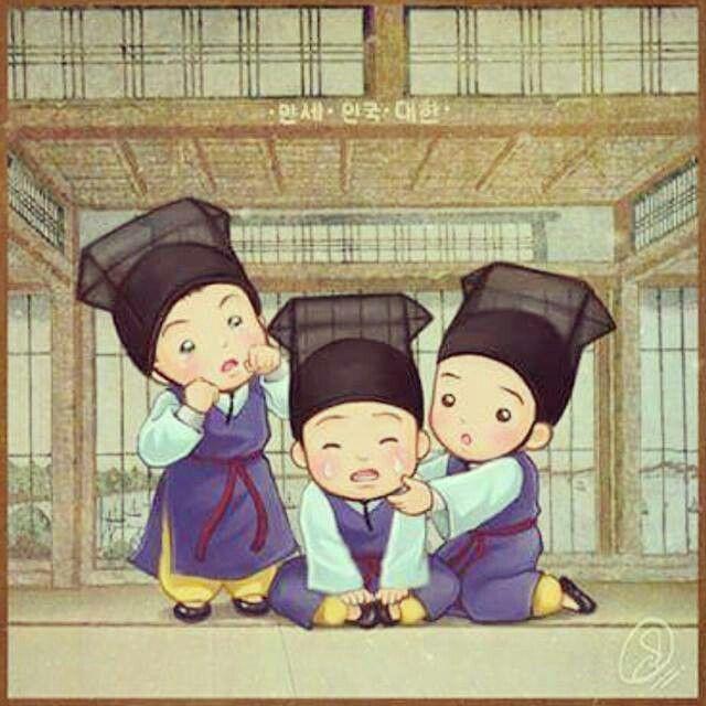 Triplets #Daehan Minguk Manse#