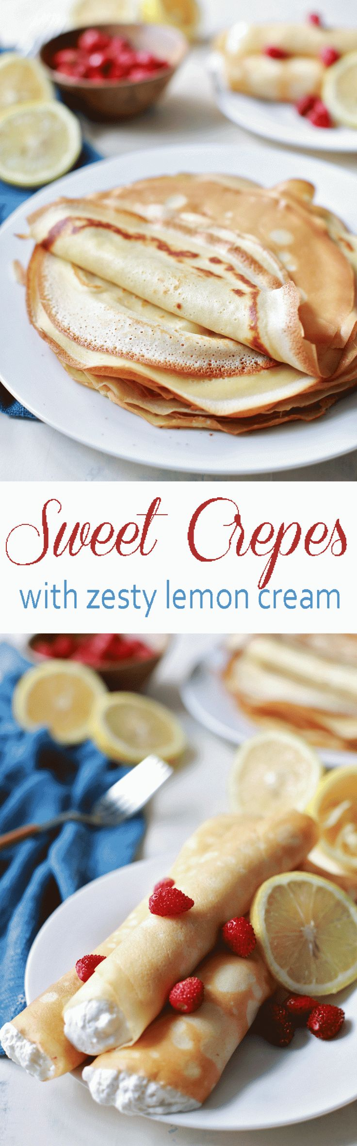 Most incredible dessert crepes in the history of EVER! and that Lemon Cream is to die for!!!