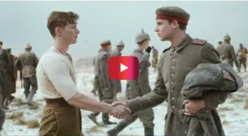 This WWI-themed Christmas ad is blowing up the Internet | Rare