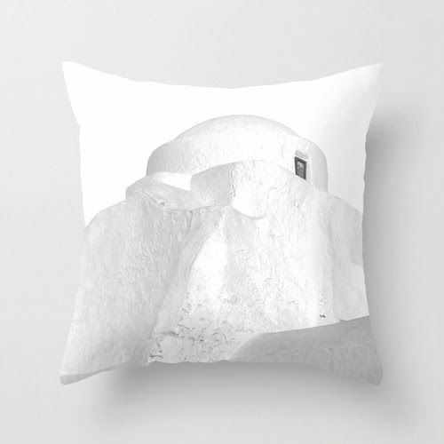 www.thikigreece.com  Paraportiani, Mykonos Pillow