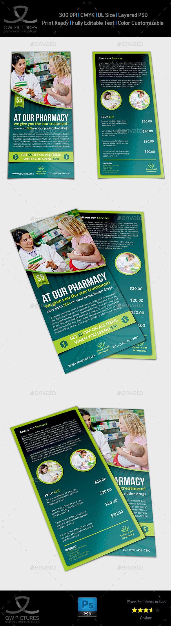 Zumba flyer design zumba flyers - Pharmacy Flyer Dl Size Template