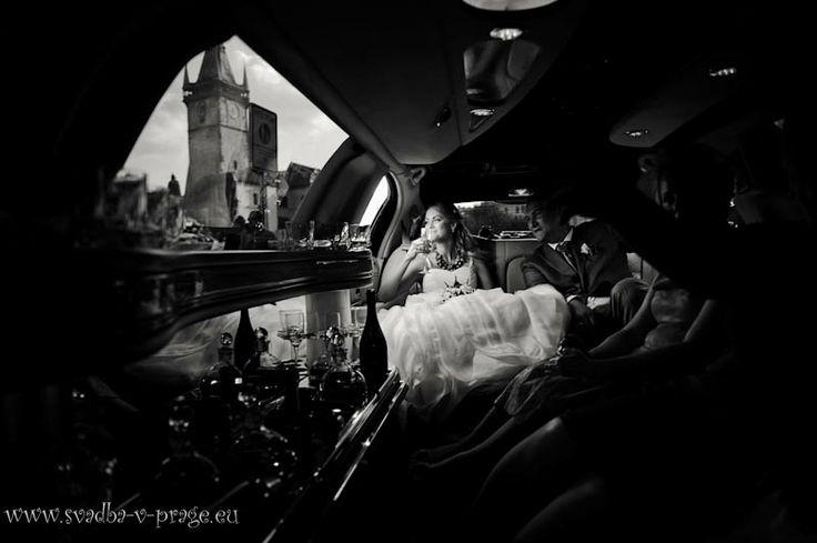 Свадебное авто - лимузин