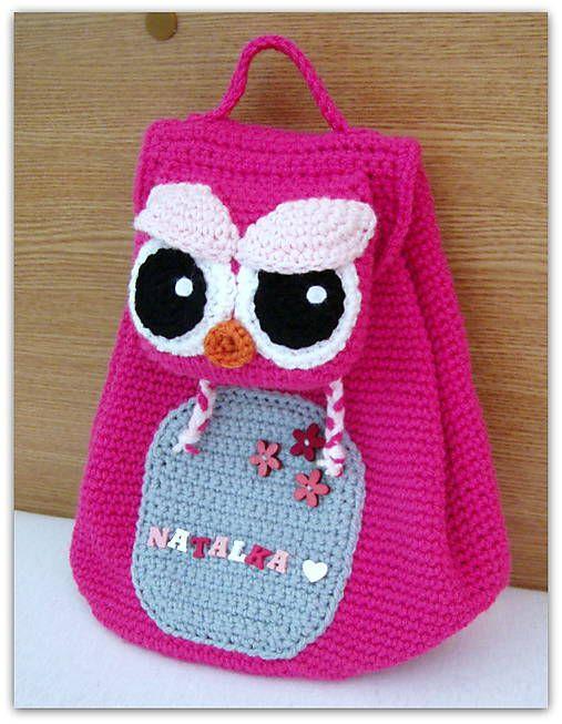 crochet back pack
