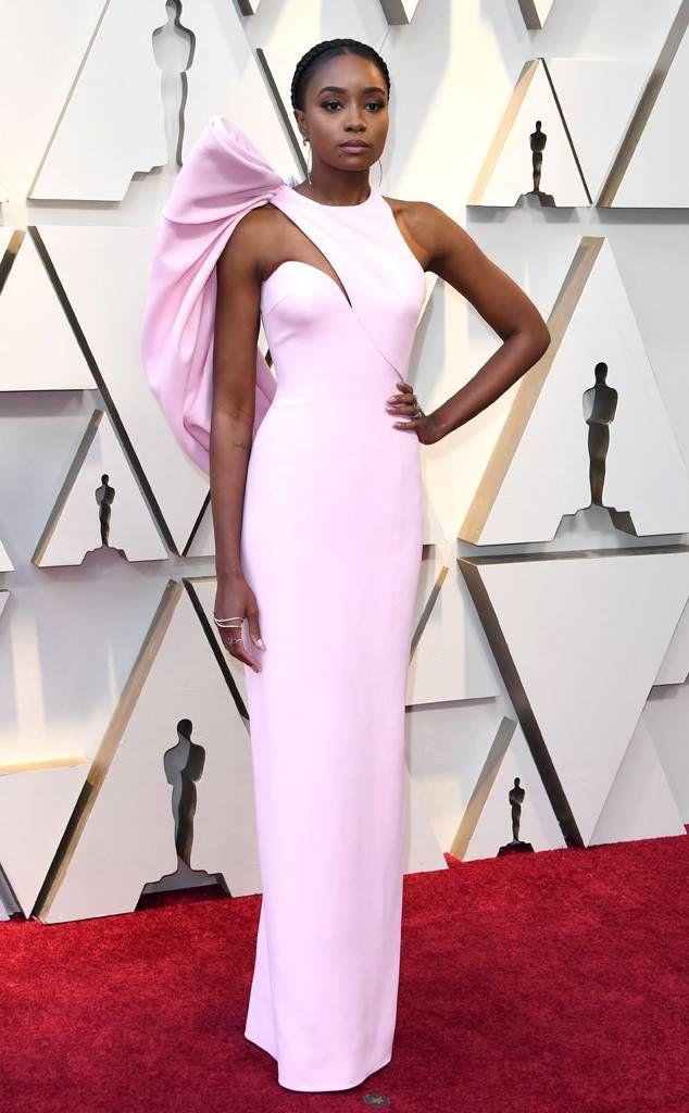 Kiki Layne From 2019 Oscars Red Carpet Fashion Celebrity Dresses Red Carpet Red Carpet Oscars Celebrity Red Carpet