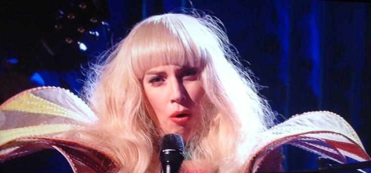 Lady Gaga still SNL guest host  performance