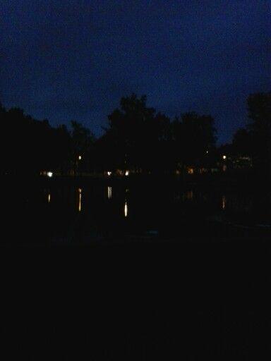 Klatovy za noci.
