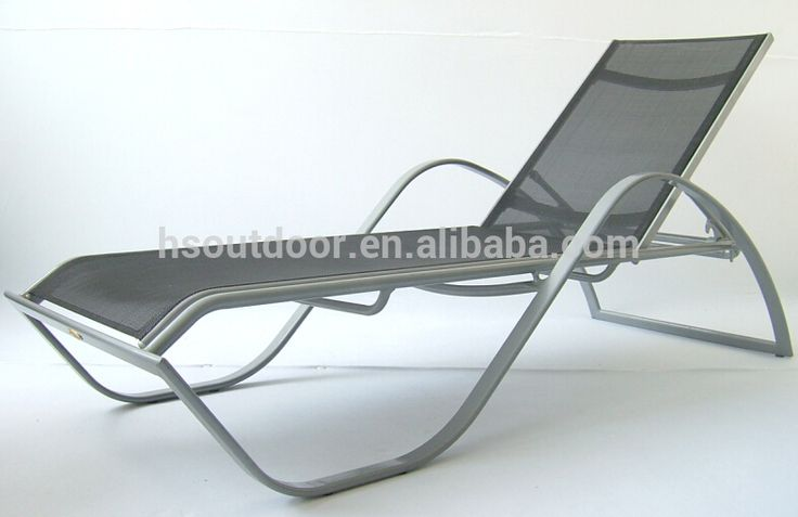 Beach Furniture cheap Sun Lounger aluminum Lounger