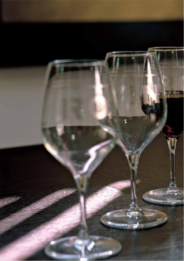 Wine glasses by Percheno. Only at tuscanhills.com