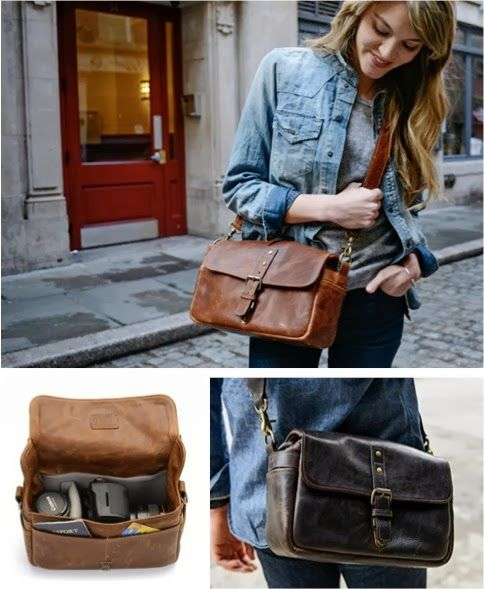 The Bowery camera bag from Ona is on my Christmas list!! Leather- $229 Soft- $119