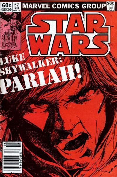 Star Wars #62, Art: Walt Simonson. The day my subscription copy showed up in the mail, I learned a new word! Simonson's Star Wars run is an all-time personal favorite.