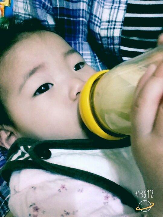 우유 꿀꺽
