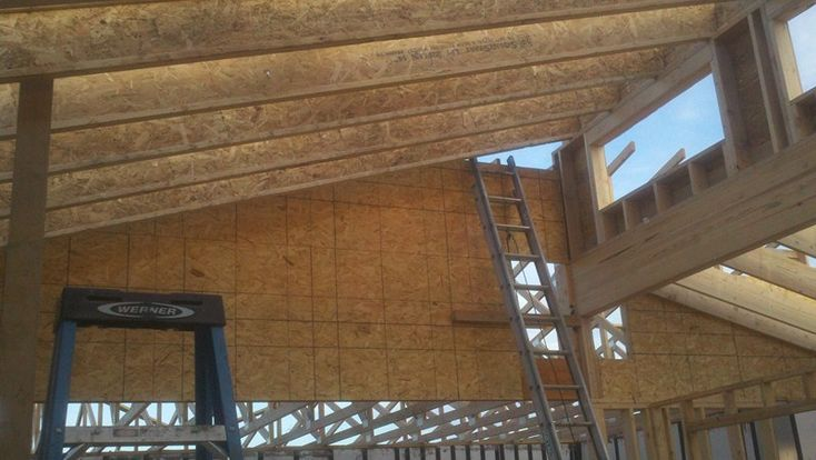 22 best project woodlawn residence images on pinterest for Clerestory roof truss design