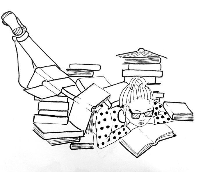 Reading books heltenkeltkomplicerat Picture