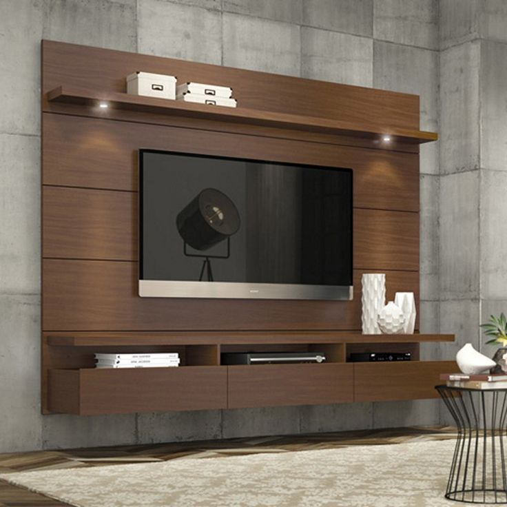 Manhattan Comfort Cabrini Theater Floating Entertainment Center - TV Stands at Hayneedle