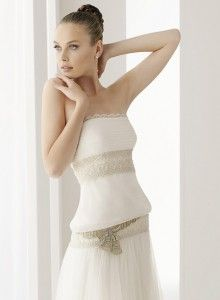 Romantic funky wedding dresses - The Wedding Specialists